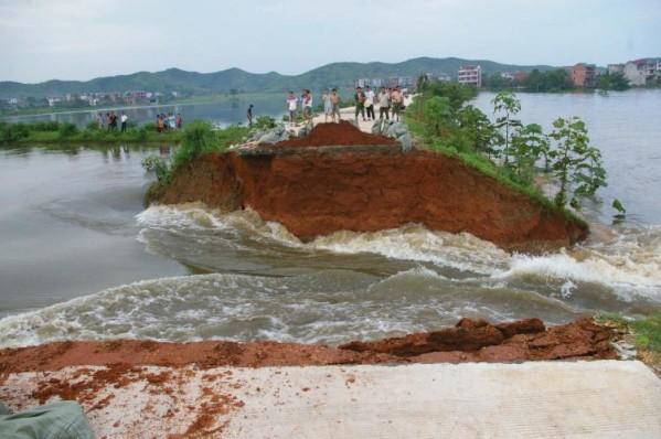 FloodInPoyangJiangxi