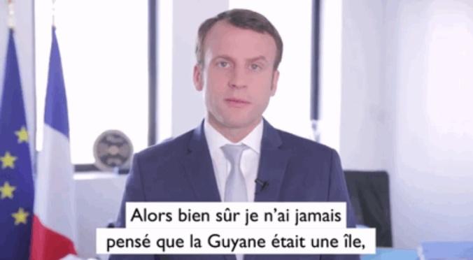Macron Guyane