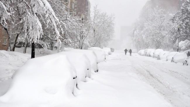 Snow NE USA