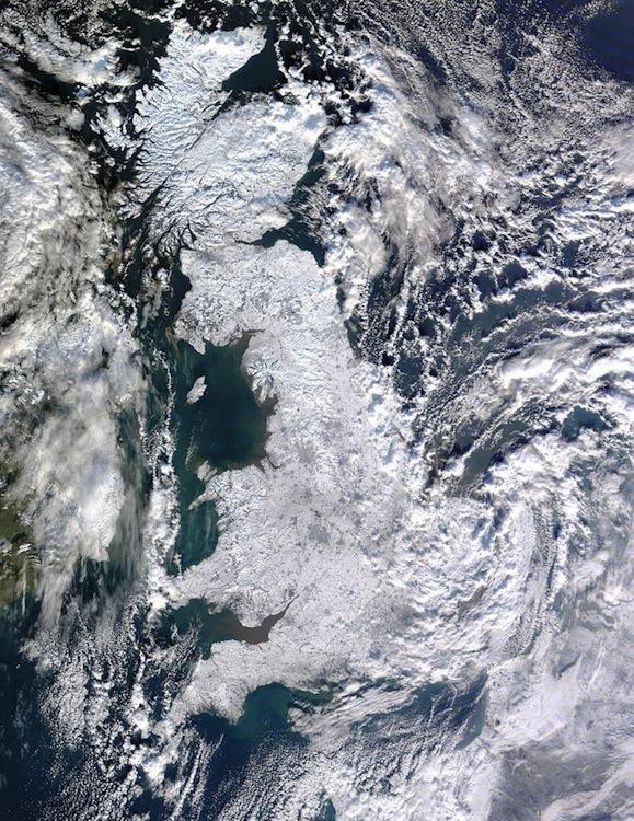 UK neige
